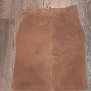 Vintage Pelle leather skirt 0168